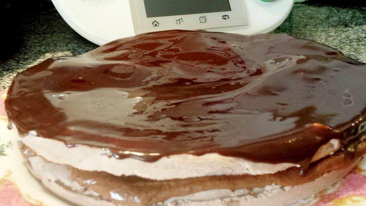 Suspiro de chocolate na Bimby