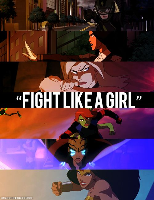Oh, Young Justice.  So many kick-ass female characters that I want to be just like.