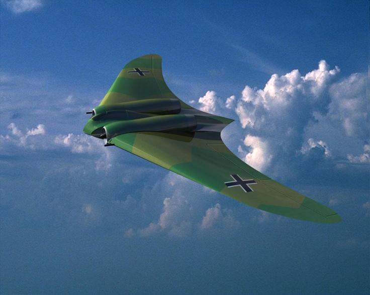 Horten Ho-229 | Fighter Aircraft | Pinterest | Aircraft ...