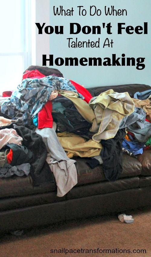 Not feeling like a talented homemaker? Here are 5 tips that can help you feel more qualified as a homemaker and more positive about your homemaking skills.