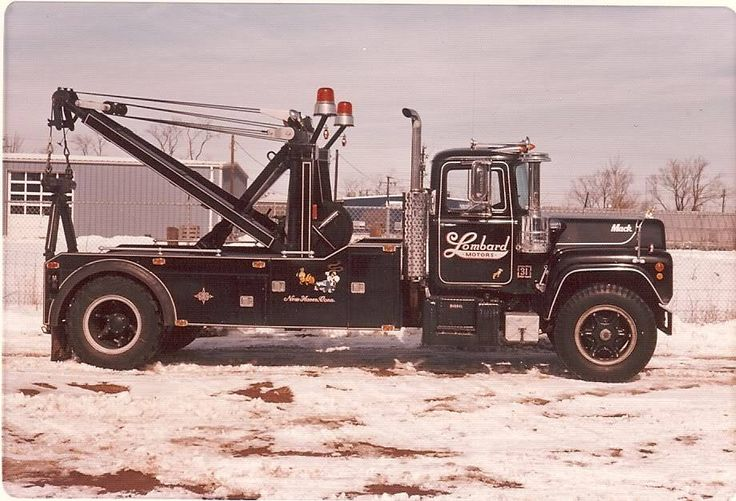83 best big mack wreckers images on pinterest tow truck