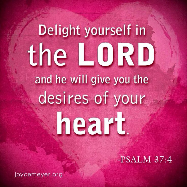 Bible Quotes Heart: 54 Best Psalm 37:4 Images On Pinterest