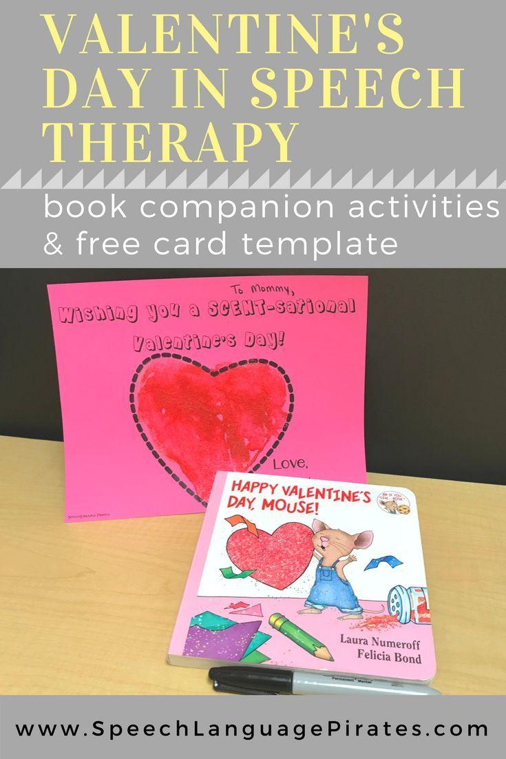 Valentine S Day In My Speech Room Valentines Day Book Preschool Speech Therapy Speech Therapy Book Companions