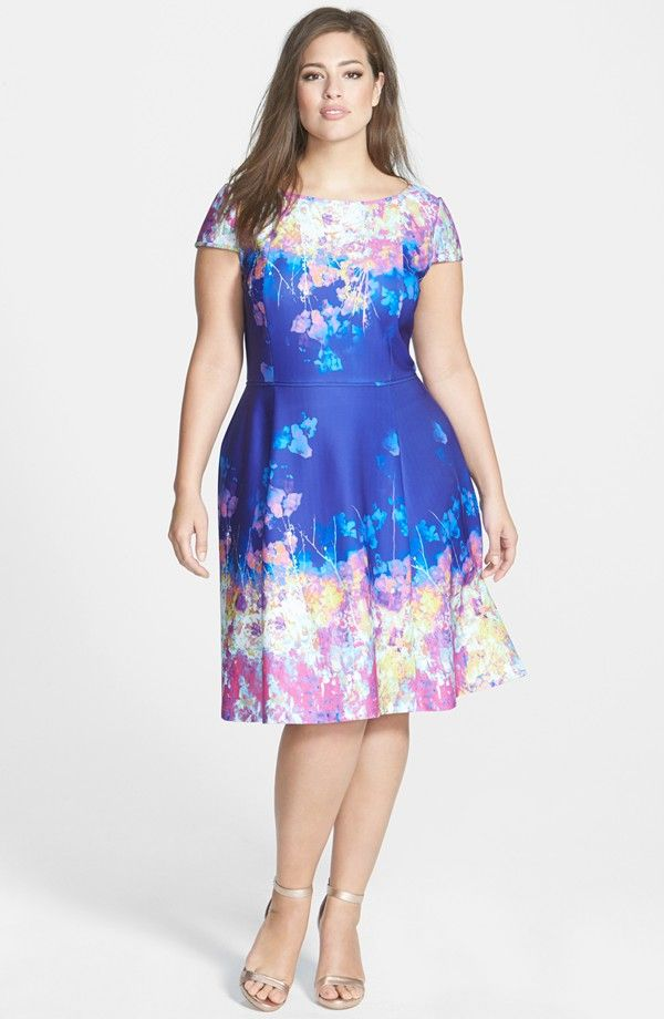 New  Plus Size Wedding Guest Dress Ideas on TheCurvyFashionista TCFStyle