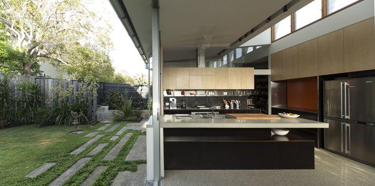 Salgo Kitching House by Sam Crawford Architect (photo by Brett Boardman)   Where I'd Like To #whereidliketolive
