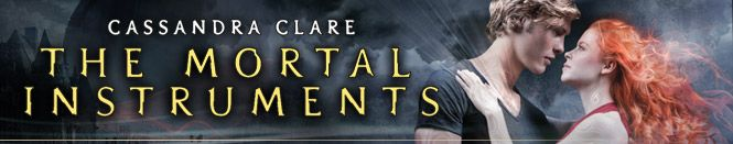 If you haven't read The Mortal Instruments series then you really should..... Movie will be coming out next year, filming has started already....