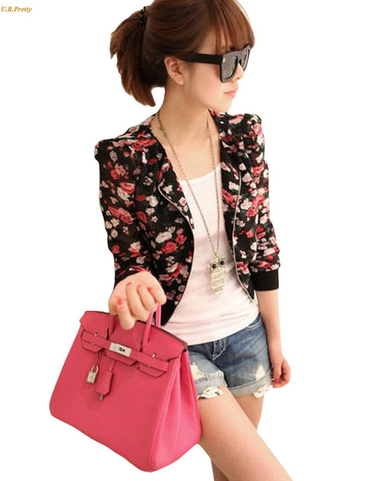 >> Click to Buy << 2017 New Fashion Women's Long Sleeve Floral Print Shrug Chiffon Short Jacket Top 3 Colors 51 #Affiliate