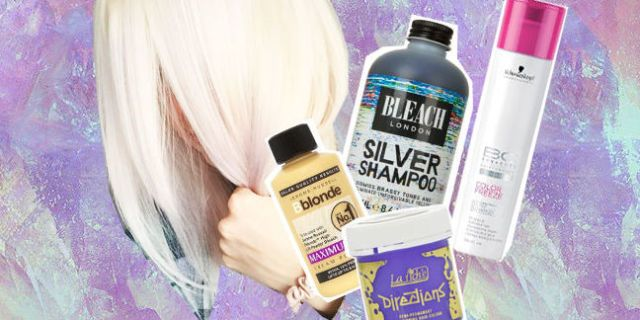 Best products for getting white blonde hair: dyes, toners and silver shampoos that will get rid of all yellow tones -Sugarscape.com