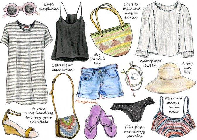 How To Pack Light For Your Summer Holiday Wardrobe