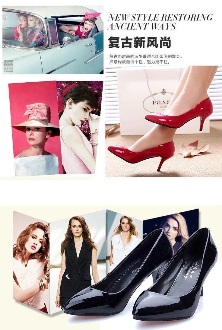 inferiori rossi degli alti talloni delle donne delle pompe ad alta scarpe tacco donna matrimonio scarpe partito di modo pattini ragazza sexy donne statunitensi