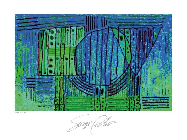 Serge Pichii   Drawings: Tree I