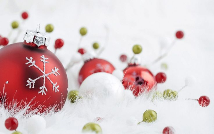 Christmas Ornaments and Backgrounds - Debbie Adams