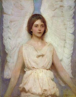 Angel 1887 by Abbott Handerson Thayer