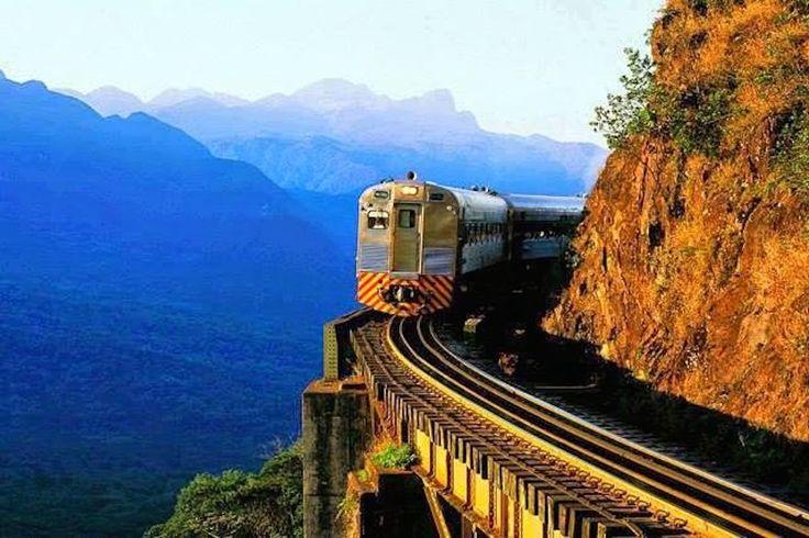 Serra Verde Express in Parana, Brazil