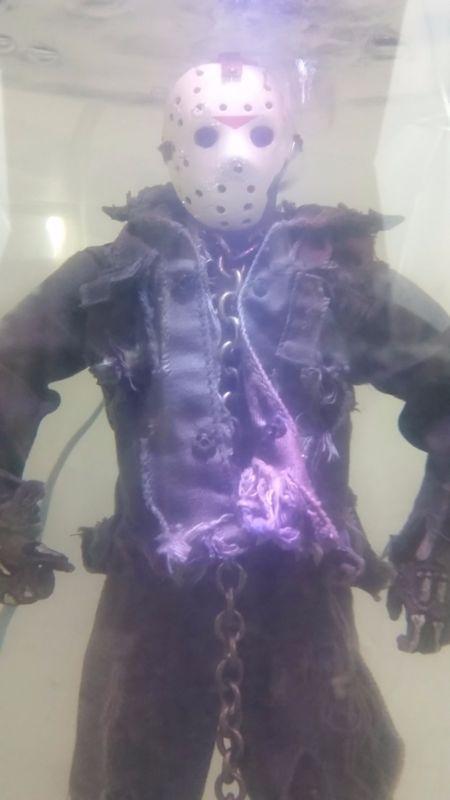 "JASON VOORHEES Custom Underwater Scream Scene Part 7 VII 1/6 12"" Scale Sideshow!"