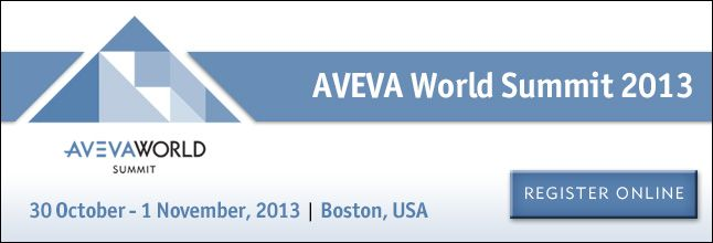 AVEVA World Summit - Register NOW!