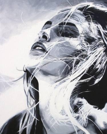 "Saatchi Art Artist Cindy Press; Painting, ""Imagine"" #art"