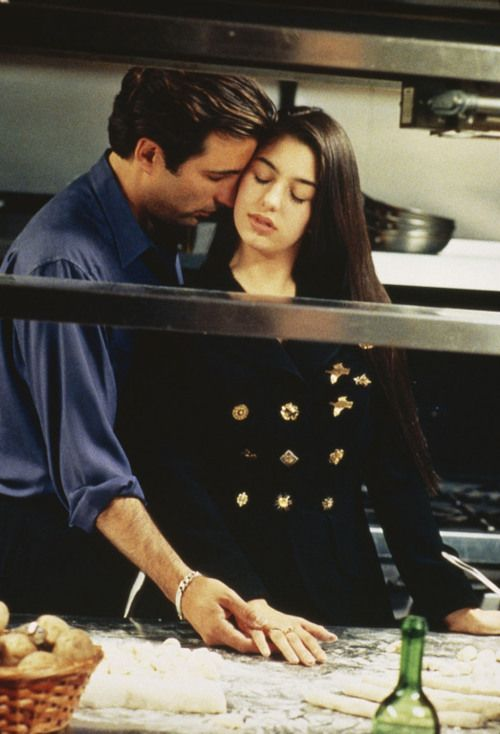 Sofia Coppola as Mary Corleone and Andy García as Vincent Corleone in The Godfather: Part III (1990)
