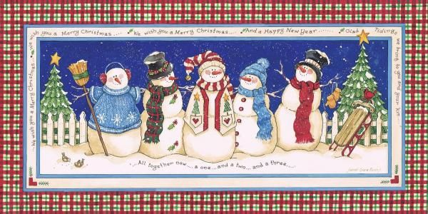 Sandi Gore Evans - We Wish You A Merry Christmas - Fine Art Print