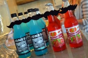mustache party favors