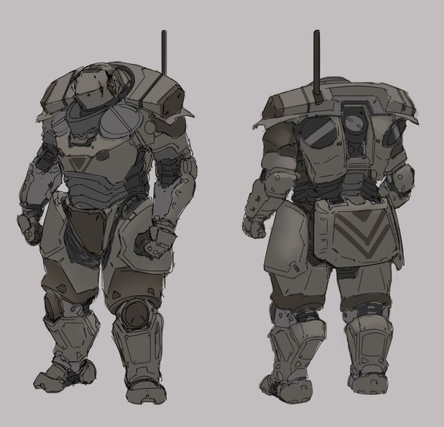 #Talos #Exo #Suit for the Marine Tactical Unit - 15mm Scale Miniatures by White Dragon Miniatures — Kickstarter