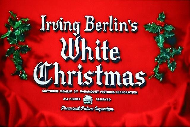 White Christmas - Font for invitation