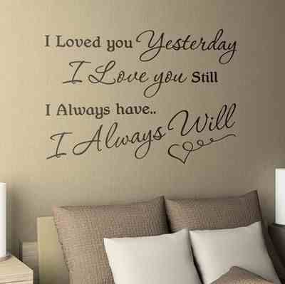 Wall Decor Letters Words And Quotes From Written Are
