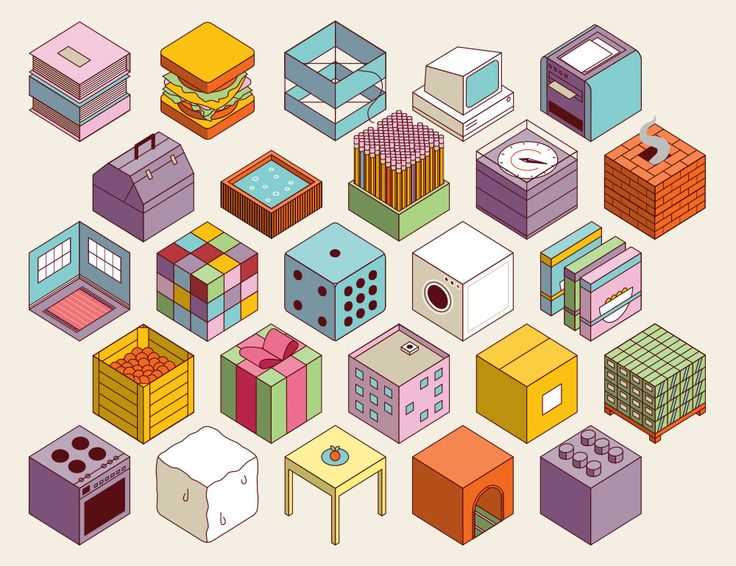 Cube Mural - Wakaberry on Behance