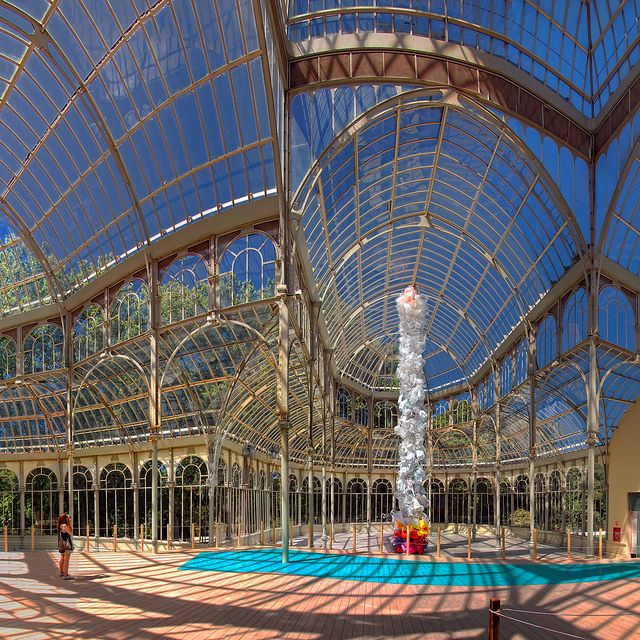 Estruturas    Palacio de Cristal - Madrid - Espanha