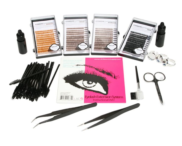 Eyebrow Eyelash Extensions Kit Blonde, Light Brown, Brown, and Black Mixed J Curl 0.10mm Length 6mm 8mm 10mm 12mm In One Tray. Eyebrow and Eyelash Extension Kit. Lasts up to 6 weeks. DVD Included Showing How to Apply Eyelash and Eyebrow Extensions. There are five trays to choose from. Each tray has Mixed J Curl 0.10mm Length 6mm 8mm 10mm 12mm In One Tray.
