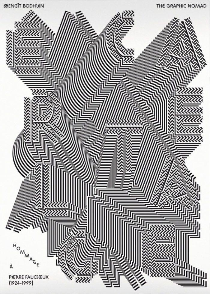 Benoît Bodhuin e seu trabalho de design gráfico e tipografia em posters
