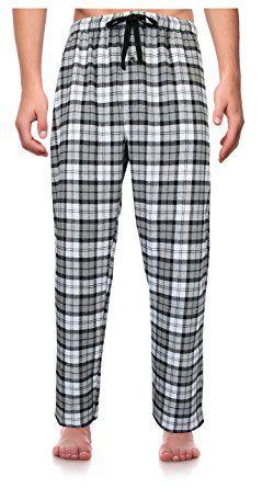 Robes King RK Classical Sleepwear Men s 100% Cotton Flannel Pajama Pants 22c372dda