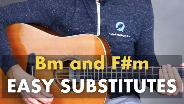 Easy bm fm substitutes guitar lessons music lessons