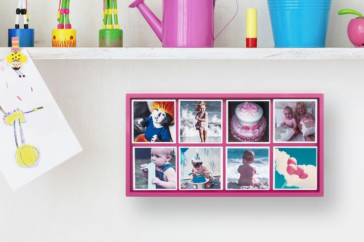 Pink Display Unit great for kids bedroom http://magnapix.net