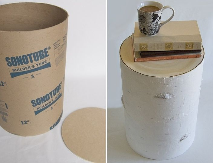 17 Best Images About Concrete Tubes Crafts On Pinterest