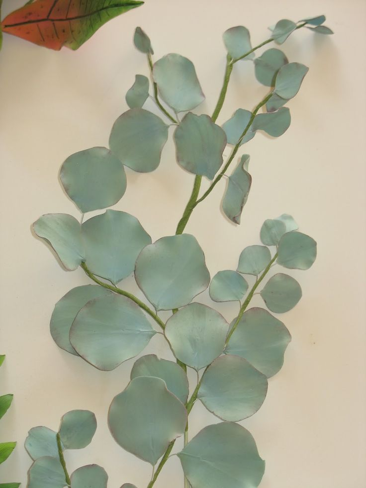 sugarcraft eucalyptus leaves - Google Search