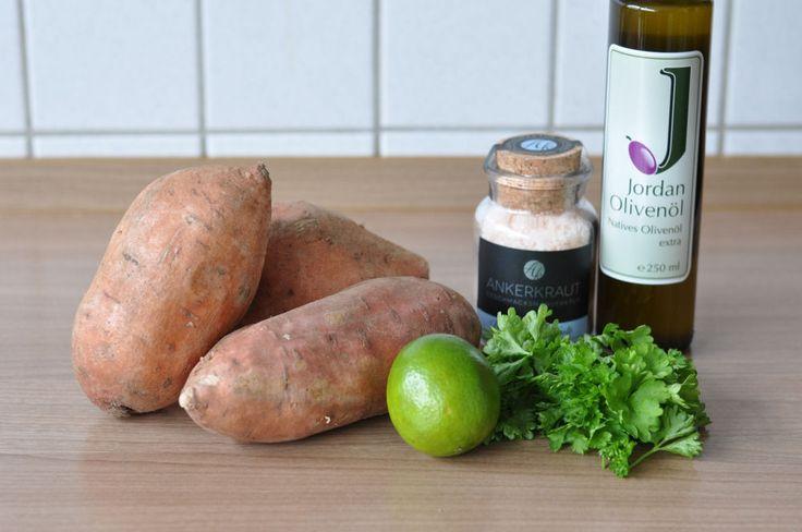 Alle Zutaten auf einen Blick Gegrillte Süßkartoffeln mit Olivenöl-Limetten-Marinade-Gegrillte Süßkartoffeln-GegrillteSuesskartoffeln01