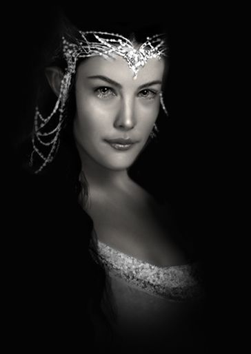 LOTRs - Arwen played by Liv Tyler (daughter of Steven Tyler of Aerosmith fame)