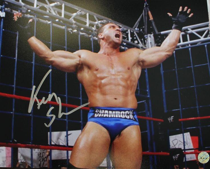 Ken Shamrock WWE WWF Autographed 8x10 Photo
