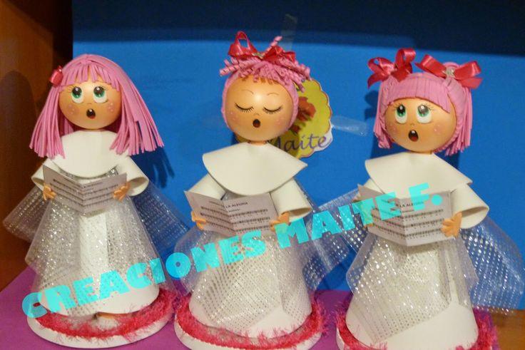 fofuchas niñas coro navidad