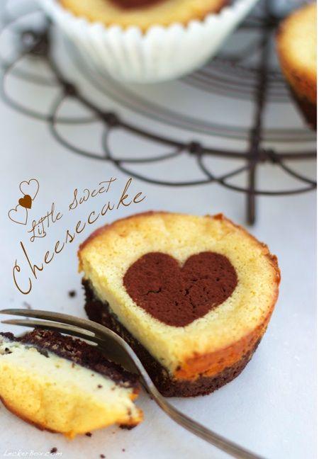 Little Sweet Cheesecakes... #ichbacksmir #kaesekuchen