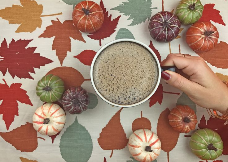 October 1st / International Coffee Day calls for a little pumpkin spiced coffee!