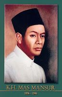 gambar-foto pahlawan kemerdekaan indonesia, KH. MAs Mansyur