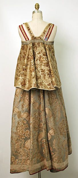 Ensemble (image 2) | Russian | 19th century | silk, cotton or linen | Metropolitan Museum of Art | Accession #: C.I.46.9.72a, b