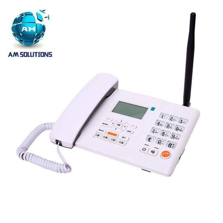 GSM беспроводной домашний телефон беспроводной телефон 900/1800 МГц настольного телефона F501 фиксированной беспроводной телефон для дома бизнес-офис использовать