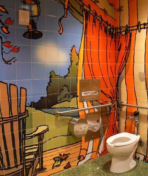 покраска керамической плитки в ванной комнате