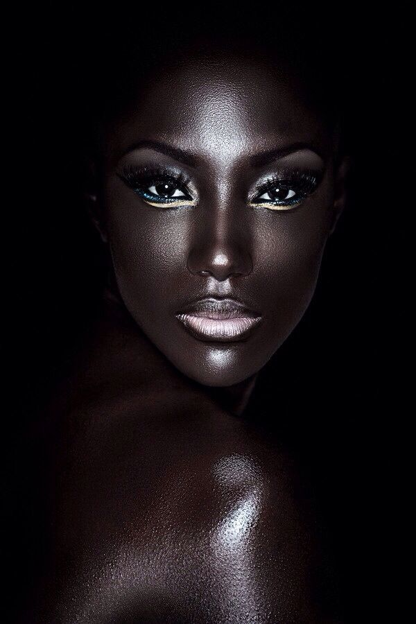 Beautiful skin, beautiful make up