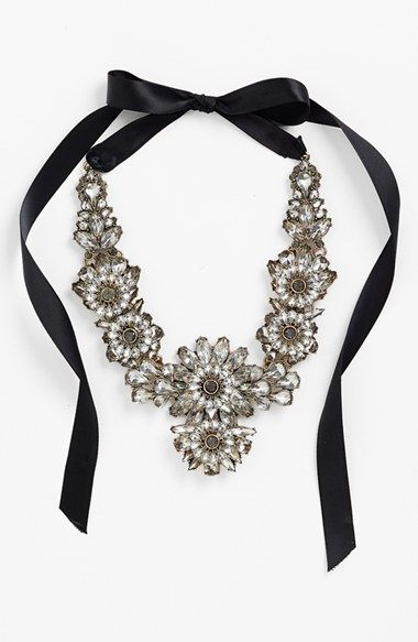 Tasha+Ribbon+Collar+Necklace+available+at+#Nordstrom 63 euro
