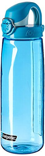Nalgene Tritan On The Fly Water Bottle, Blue, 24Oz. For product & price info go to:  https://all4hiking.com/products/nalgene-tritan-on-the-fly-water-bottle-blue-24oz/