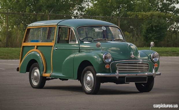 1969 Morris Minor 1000 Traveller Estate Wagon.